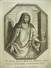 Sainte Anne Anna Graca sc Michiel VAN LOCHOM à la Duchesse d'Aiguillon 1639