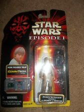 Hasbro Star Wars Episode 1 Anakin Skywalker Tatooine with Backpack and Grease