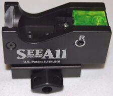 See All Open Delta Fiber Optic Sight for Rifles Pistols Shotgun w/ FREE Riser