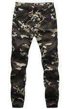 NEW Men's Camouflage Army Sweat Pants Casual Sport Jogging Trousers Dance Slacks