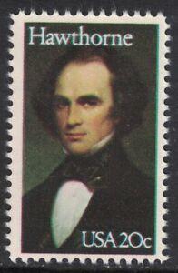 Scott 2047- Nathaniel Hawthorne, Writer- MNH 20c 1983- unused mint stamp