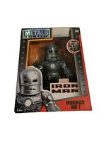 IRON MAN MK1 DIE CAST METALS 4 INCH BY JADA TOYS M62 FREE SHIPPING