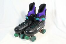 Bauer Quad Roller Skates 1990s Original Retro Variflex Turbo Hockey Size UK 7