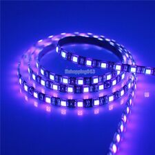 5M Ultraviolet UV 395-405nm Purple 5050 SMD 300LED Flex Strip Waterproof 12V BK