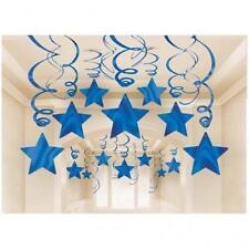 Décorations de fête bleu Amscan pour la maison toutes occasions