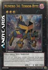 1a Ed. ☻ Numero 34: Terror-Byte ☻ Ultimate ☻ GENF IT041 ☻ YUGIOH ANDYCARDS