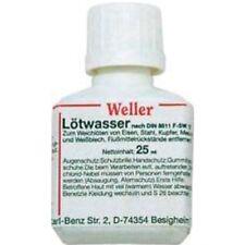 Weller Lötwasser LW 25, 25 ml, Lötenflussmittel, Löten Flussmittel, Lötmittel