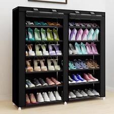 Zapato Rack Organizador Mueble De Vivienda Con Cubierta De Tela Herramienta De Sala Minimalistas Modernos