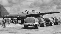 WW2  Photo WWII P-61 Black Widow Fueling Up  Saipan USAAF World War Two /5247
