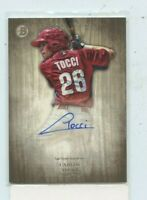 Carlos Tocci 2014 Bowman Inception Rookie Auto Autograph PA-CT