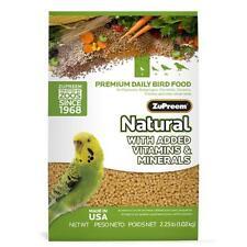 New listing ZuPreem Natural with Added Vitamins,Amino Acids,Minerals Small Bird Food,2.25 lb