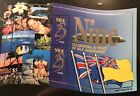 NIUE 25 YEARS OF SELF GOVERNMENT SHAPED STAMPS MINI SHEET 1999 MNH MARINE LIFE