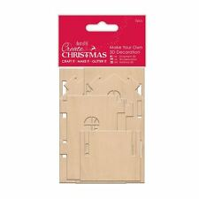 Create Christmas (Papermania) - Make Your Own 3D Decoration Wooden House