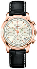 L27528723 Longines The Saint-Imeir Collection Mens Watch Rose Goldg Case Leather