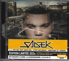 2 CD 29T SADEK LES FRONTIÈRES DU RÉEL EDITION LIMITÉE feat SOPRANO NEUF SCELLE