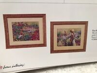Enchanted Meadow Prints Pair Vintage Home Interiors & Gifts