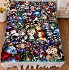 "Anime Game The Legend of Zelda Bed Sheets HD Printed Otaku Cover 59""X78.7"" #7"