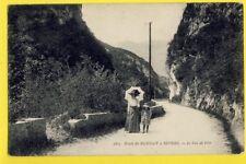 cpa FRANCE 74 - Route de RUMILLY à SEYSSEL (Haute Savoie) Le VAL de FIER Animés