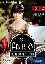 Miss Fisher's Murder Mysteries: Series 2, Season 2, NEW (DVD, 2014, 4-Disc Set)