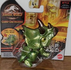 Jurassic World Camp Cretaceous Snap Squad Triceratops Figure