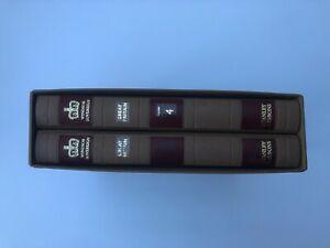 Pair of Stanley Gibbons Windsor Sovereign stamp albums in slipcase