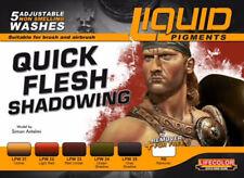 Lifecolor LFC-LP7 Quick Flesh Shadowing Liquid Pigments Set