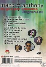dvd DE GIRA POR COLOMBIA tu amor me hace bien HASTA AYER nadie como ella CELOS
