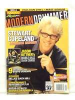 STEWART COPELAND MODERN DRUMMER MAGAZINE JASON BITTNER MATT SORUM AUGUST 2006