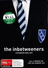 THE INBETWEENERS COMPLETE SEASON 1 2 3 DVD BOX SET R4 NEW