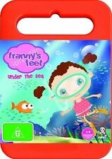 Franny's Feet - Under the Sea : Volume 2 DVD Region 4 (VG Condition)