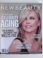 CHARLIZE THERON  Spring 2009 NEW BEAUTY Magazine CELEBRITY AGING