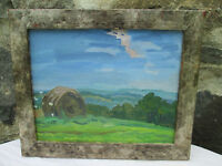 """O/C """"View from Olana"""" NY, sgnd Ryan Seng Listed South Hampton Gallery, Amazing!"""