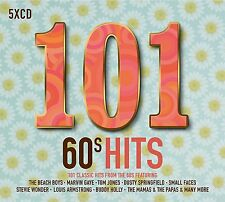 101 60's HITS 5 CD ALBUM BOX SET (New Release 2017)