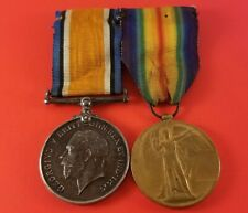 """Ww1 Great Britain 1914-18 & Victory Medals """" S-16880 Pte.G.Black.R.Highrs """""""
