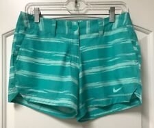 Nike Golf Womens Greens Shorty Shorts in Light Retro/Artisan Teal Size 4 Nwt $70