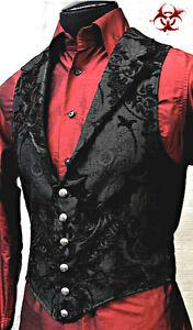 SHRINE GOTHIC ARISTOCRAT VAMPIRE VEST JACKET VICTORIAN TAPESTRY PIRAT STEAMPUNK
