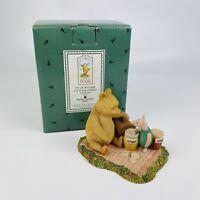 Border Fine Arts Studio Pooh's Picnic A0061 Disney Collectibles Figure Décor