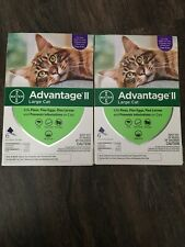 Bayer Advantage II for Large Cats (9 lbs and Over) - 12 Doses