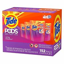 Tide Pods Laundry Detergent, Spring Meadow 152 ct.