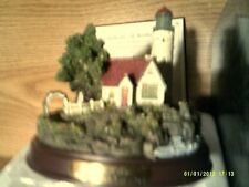 Thomas Kinkade Seaside Memories Lighted Lighthouse-Beacon-1999-Ni b-Free Shipping