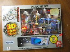 SPOT WHAT! 250 PIECE 3D JIGSAW PUZZLE WITH 3D GLASSES