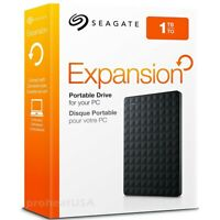 Seagate Expansion Portable 1TB External Hard Drive HDD, USB 3.0 for PC Laptop