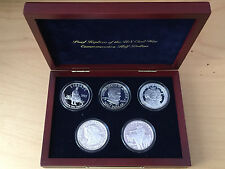 U.S. Civil War Commemoratives Copy 4.57 oz .999 Silver Art Round Proof IN BOX