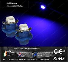 LED B8.4D Blue Dashboard Cluster HID Speedometer Instrument Gauge Lights Bulbs