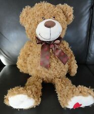 RED HEART TEDDY BEAR STUFFED ANIMAL PLUSH 19'' Great gift for Valentine's Day
