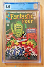 FANTASTIC FOUR #49 1ST APP GALACTUS & 2ND APP SILVER SURFER *CGC 6.0 OW TO WP*