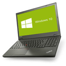 Lenovo ThinkPad T540p Notebook Quad Core i7-4710MQ 4x 2,5GHz 16GB RAM 500GB HDD