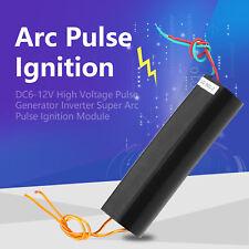 Dc6 12v High Voltage Pulse Inverter Super Arc Generator Ignition Coil Module Ark