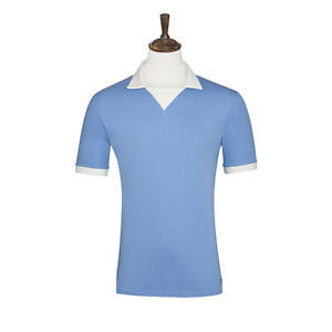 Manchester City 1957-58 Retro Soccer/Football Jersey