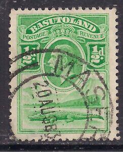 Basutoland 1933 KGV 1/2d Emerald Used SG 1 ( B152 )